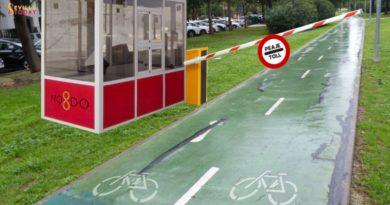Ponen peaje en el carril bici a Sevilla Este