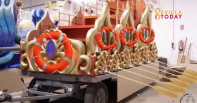 Las carrozas saldrán con remos por si la cosa se pone chunga