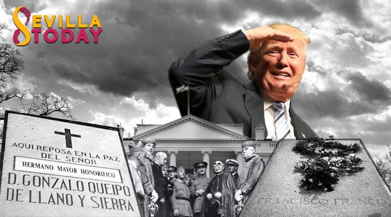 Trump se ofrece a acoger los restos de Franco y Queipo de Llano